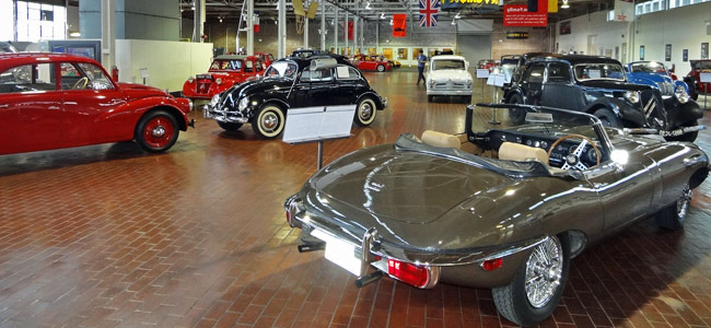 Quirky Attraction: Lane Motor Museum