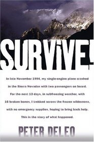 survive peter deleo travel book reviews