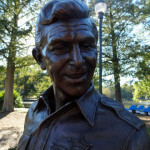 andy griffith statue raleigh