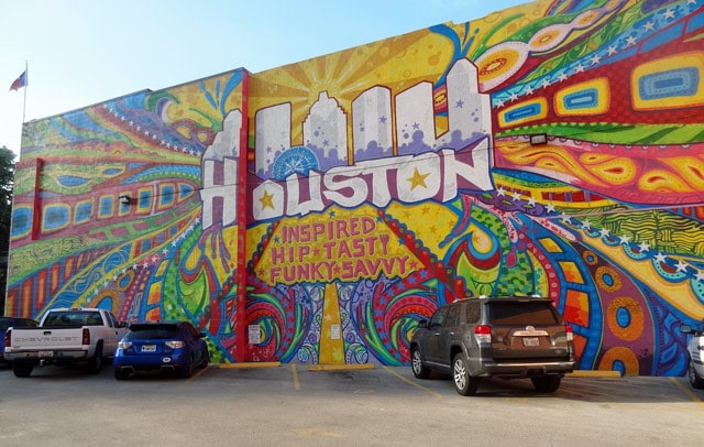 houston inspired wall