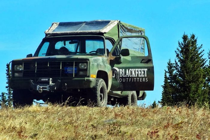 blackfeet outfitters jeep
