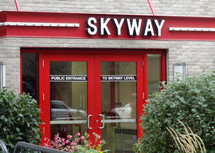 Quirky Attraction: Minneapolis Skyway