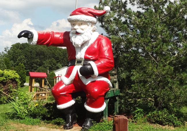 santa claus - indiana offbeat places to visit