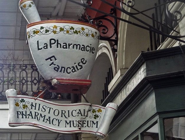 Quirky Attraction: New Orleans Pharmacy Museum
