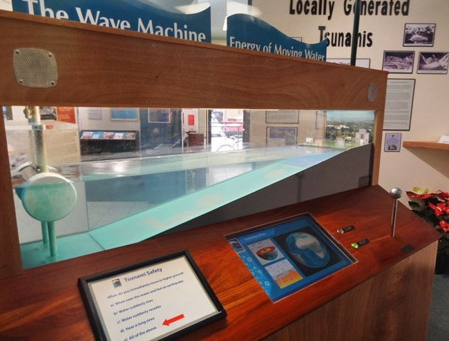 tsunami museum wave machine