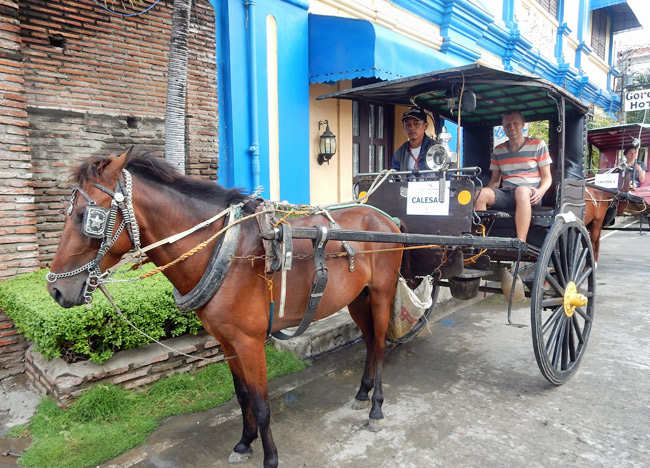 Going back in time in the Philippine city of Vigan