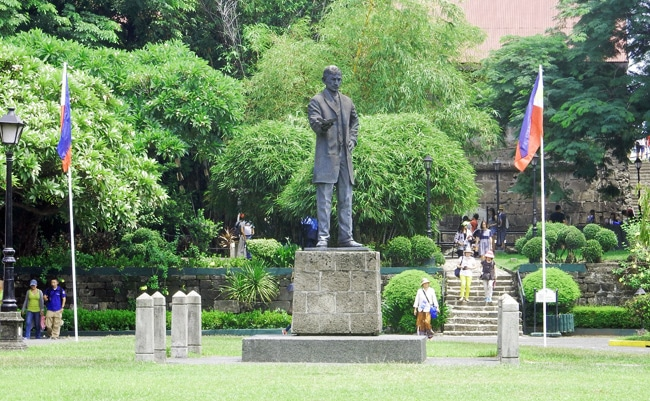 Inside Fort Santiago in Manila's 'Walled City' of Intramuros
