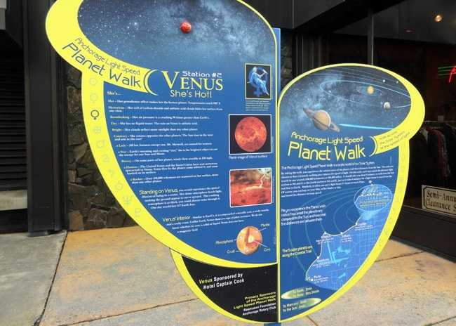 anchorage light speed planet walk venus