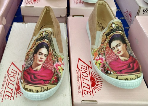 frida kahlo shoes