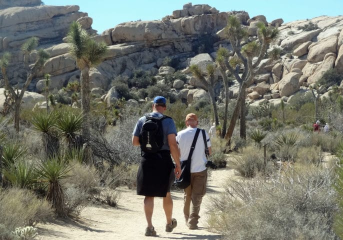Hiking to Barker Dam and Wonderland Ranch in Joshua Tree NP