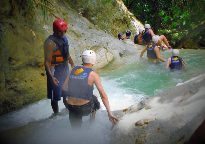 Amazing outdoor fun: The 27 waterfalls of Damajagua, Dominican Republic