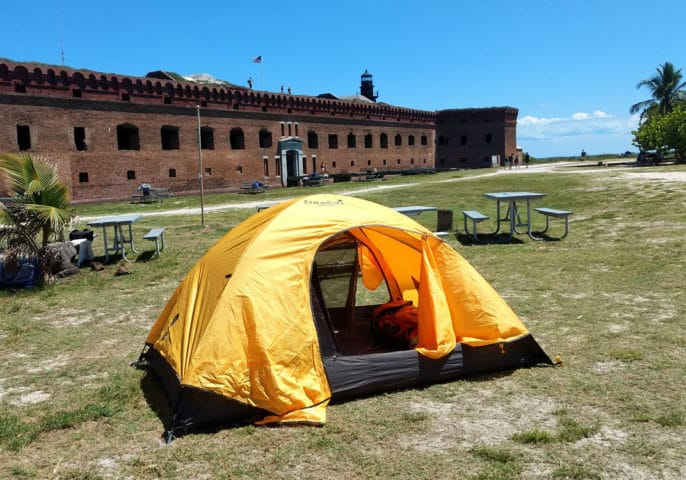 Everything you need to know about camping at Florida's remote Dry Tortugas National Park
