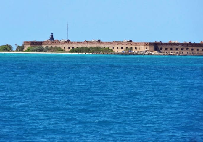 Delving into the history of Fort Jefferson at Dry Tortugas