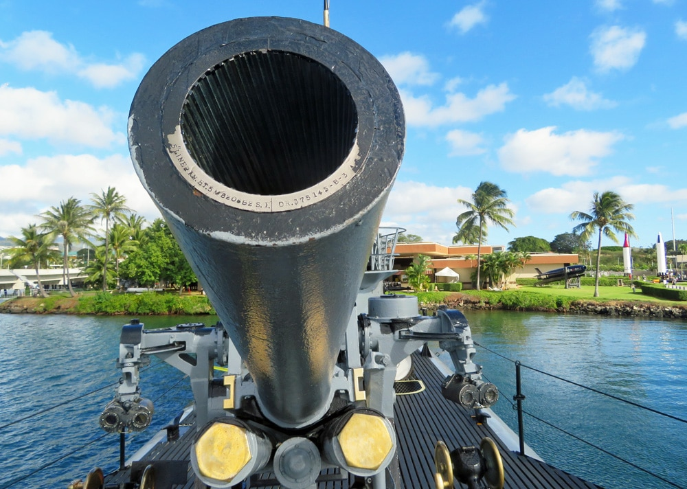 uss bowfin cannon