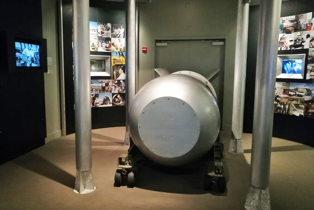 cool vegas museums - atomic nuclear testing