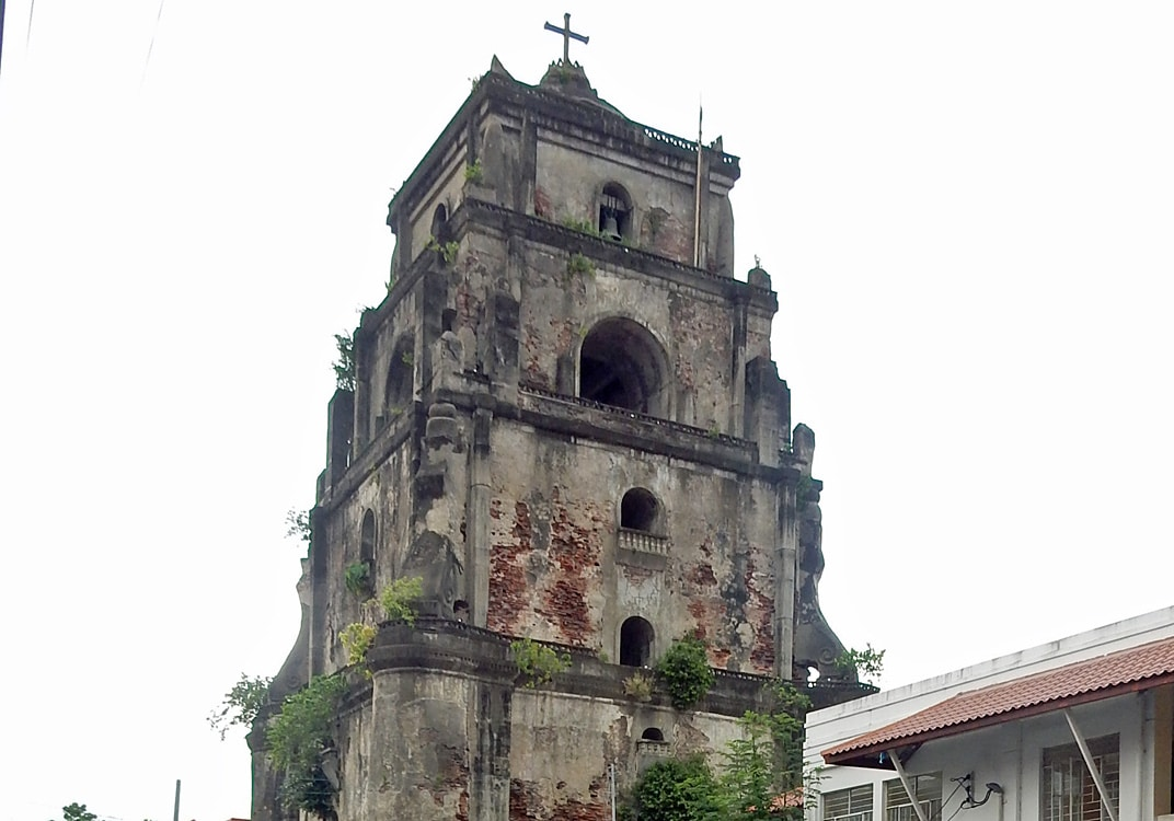 Quirky Attraction: The Sinking Bell Tower of Laoag, Philippines