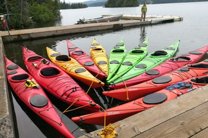 kayaking isle royale visitors guide