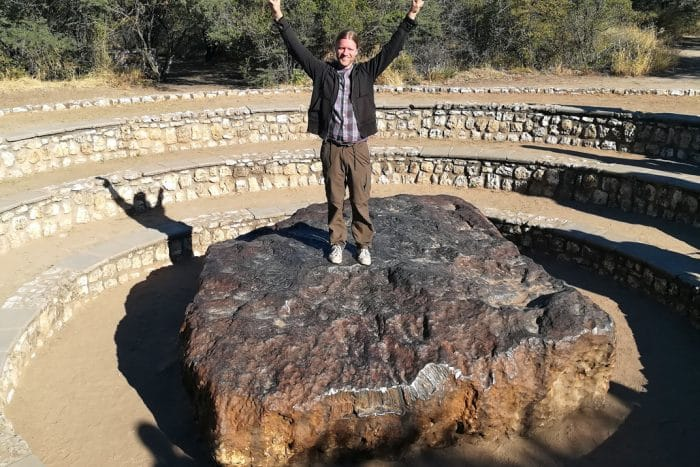 world's largest meteorite hoba namibia