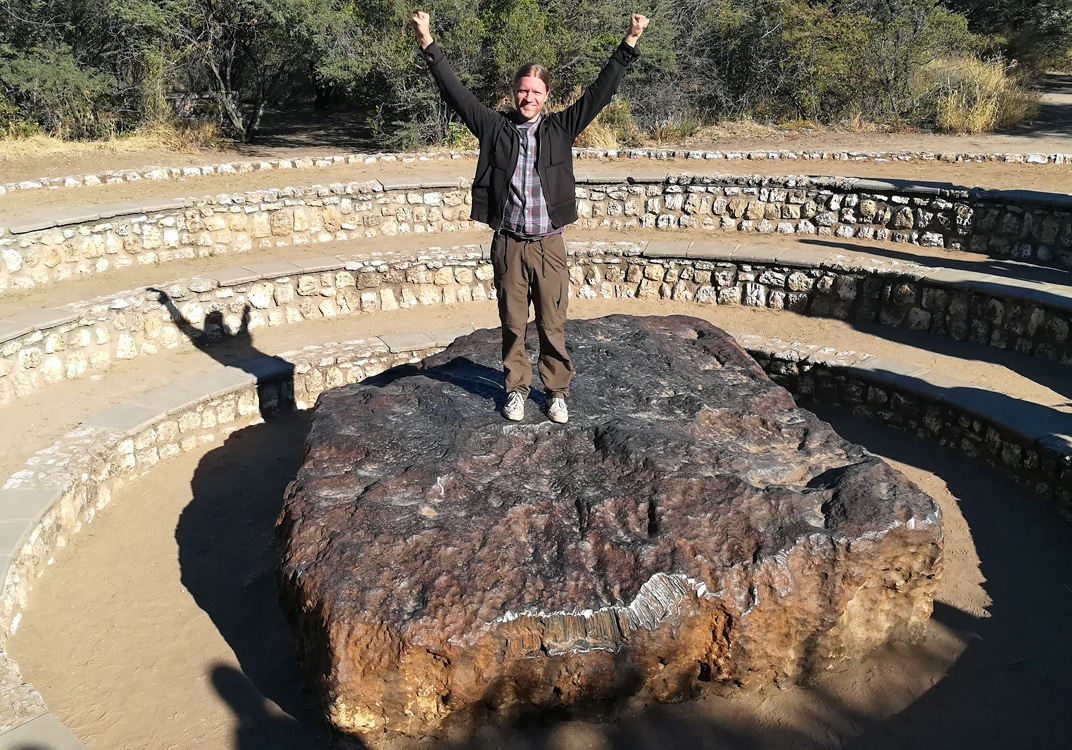 Quirky Attraction: The World's Largest Meteorite, Namibia's Hoba Meteorite