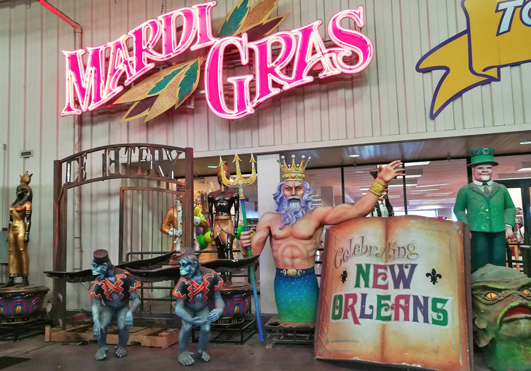 Quirky Attraction: Mardi Gras World in New Orleans