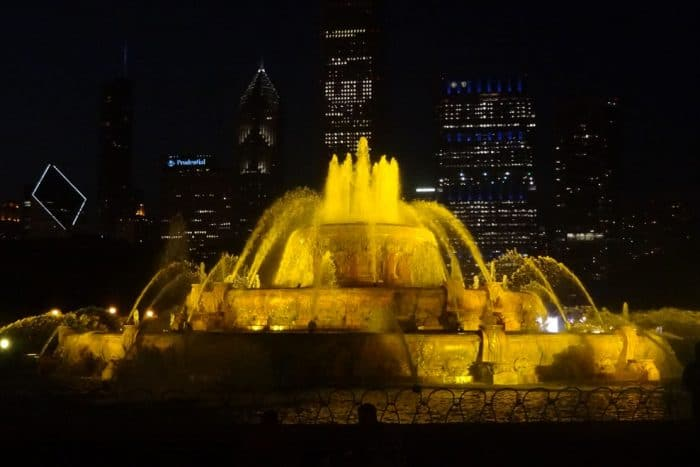Grant Park - Chicago tourist attractions night