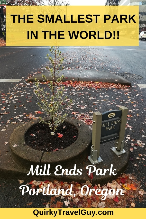 mill ends park pin