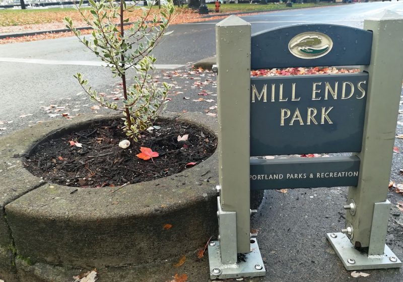 mill ends park portland