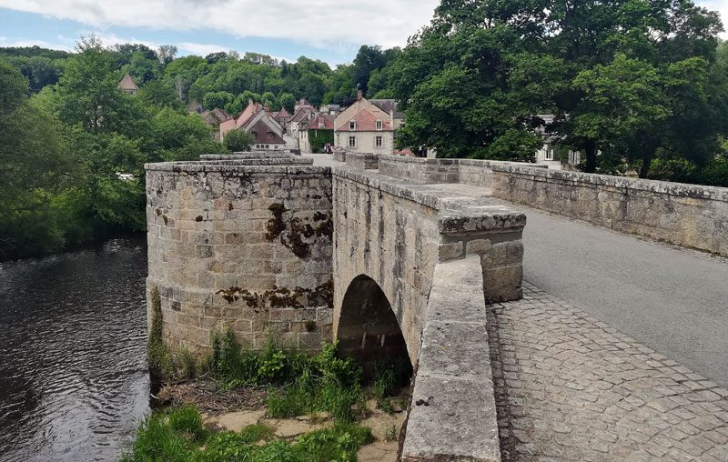 moutier d'ahun medieval bridge