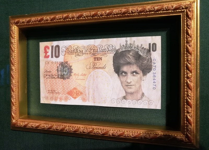 princess diana dollar bill