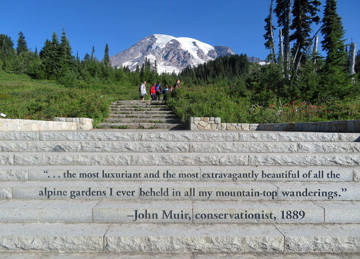 john muir rainier quote