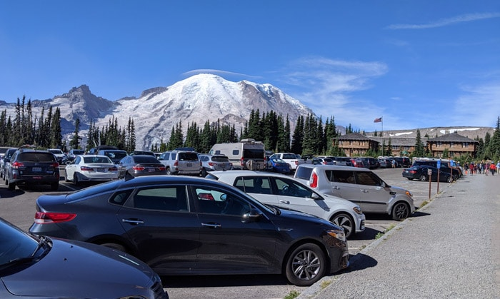 rainier parking lot